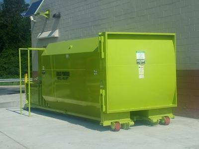 Refurbished Self-Contained Compactor