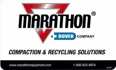 *New* Marathon Logo Decal