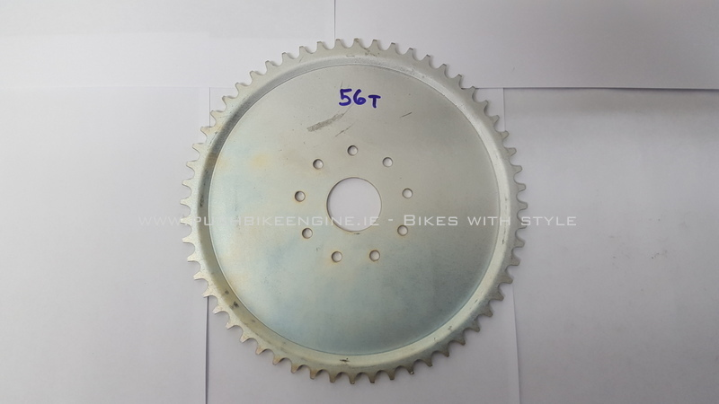 Wheel Sprocket 56T 56 Tooth 415 Rear Bicycle Engine Conversion 48cc 60cc 80cc