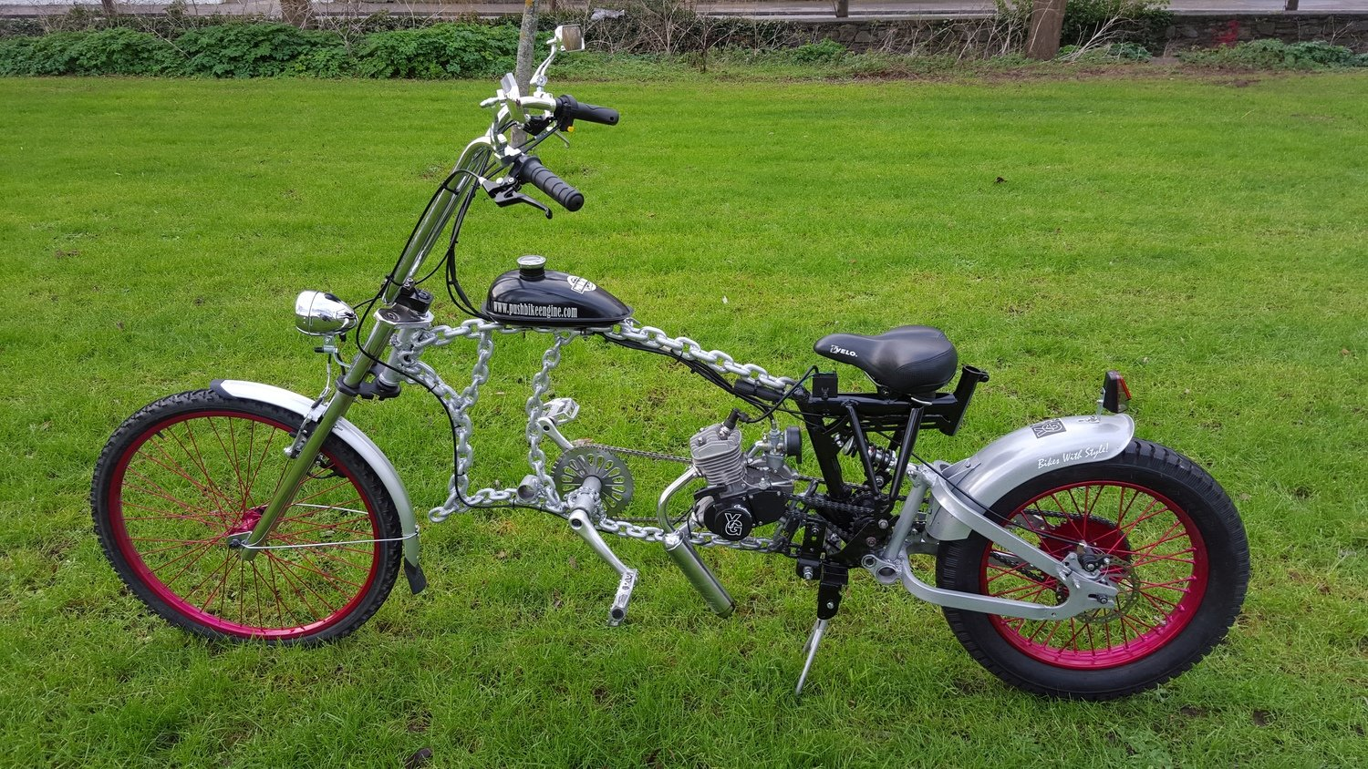 YG - Frankenstein Transformer Chain Bike