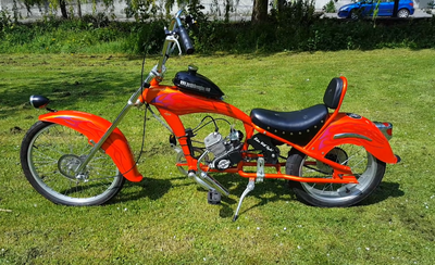 YG - Chopper orange bike