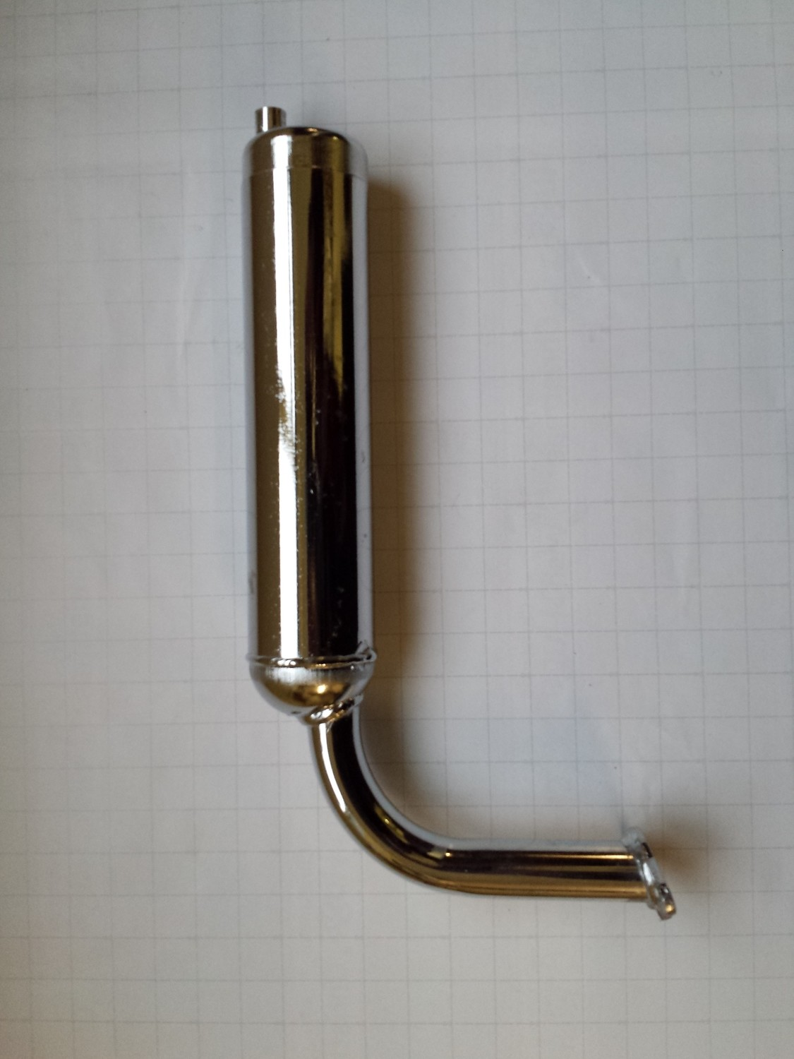 PBE exhaust pipe