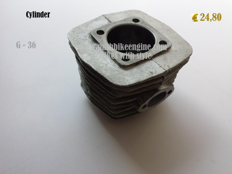 PBE cylinder 50cc - 40mm