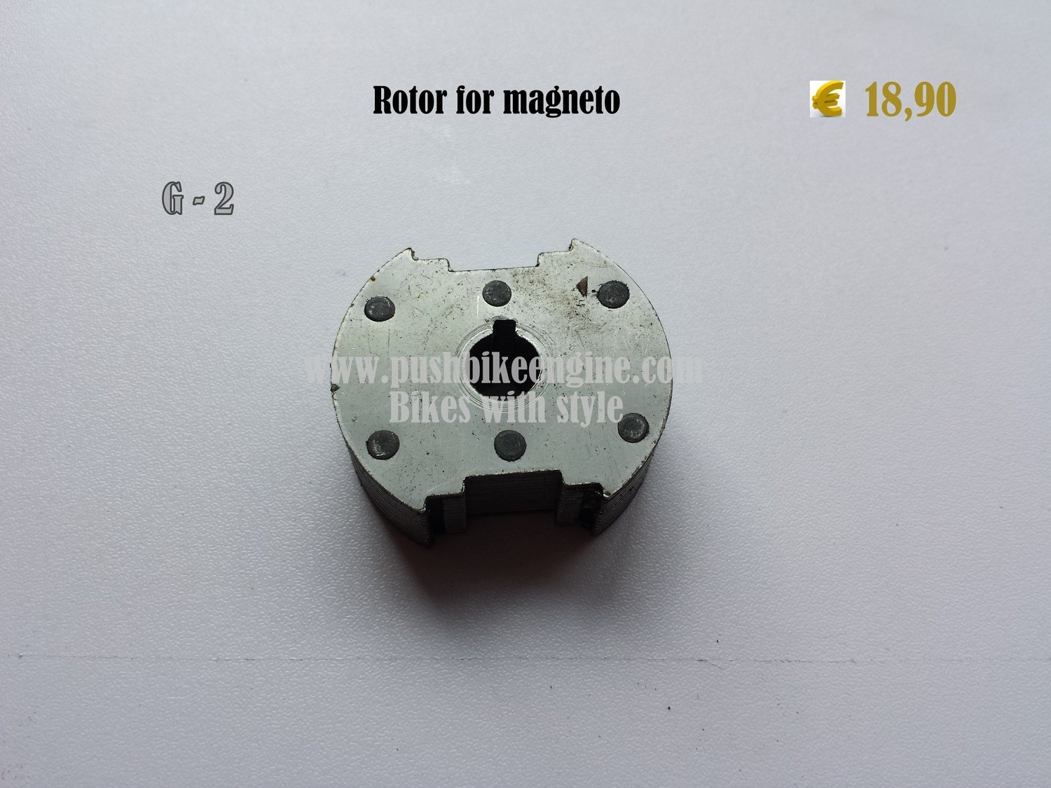 Rotor for magneto