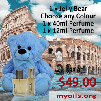 Jelly Bear with Fine Oil Perfumes