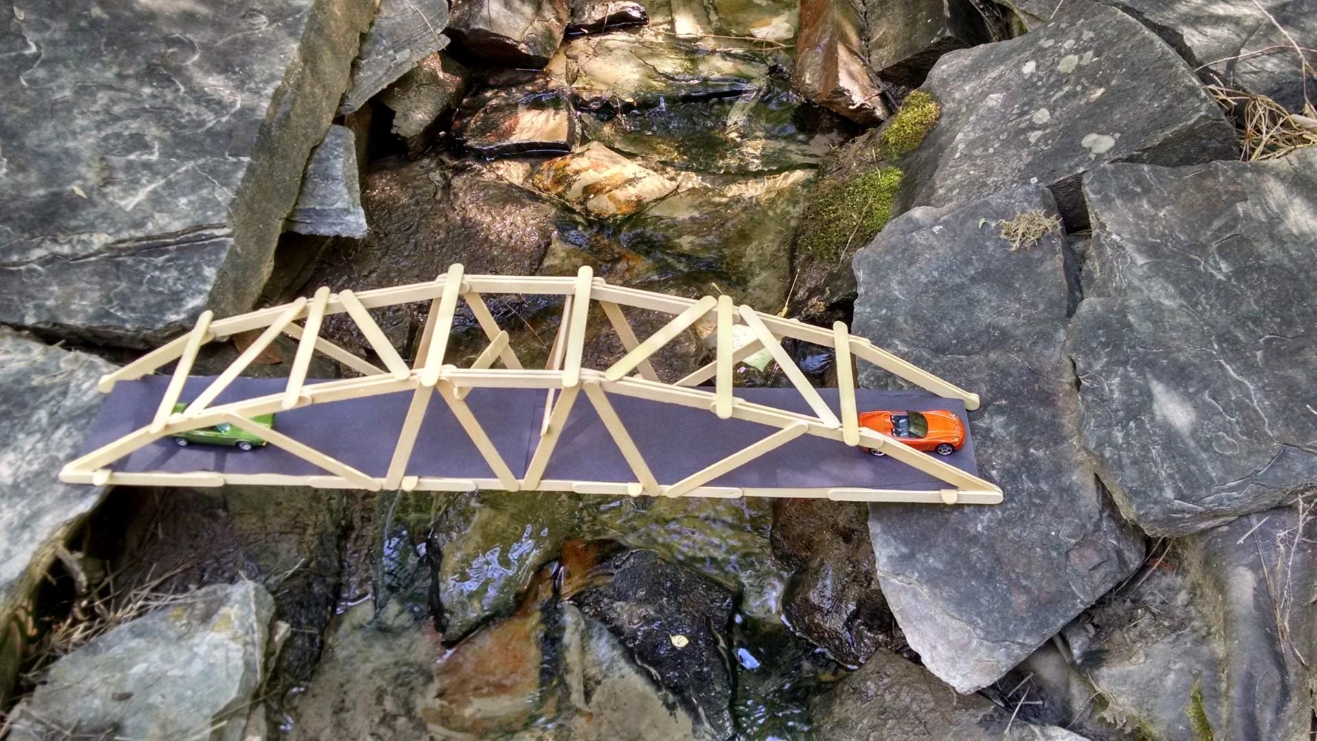 popsicle truss bridge instructions