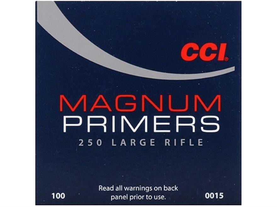 CCI LARGE RIFLE MAGNUM PRIMERS / 1000