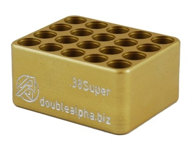 DOUBLE ALPHA  Golden 20-Pocket Gauge - 9MM