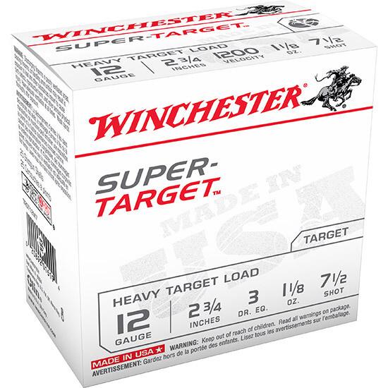 WINCHESTER SUPER TARGET 12 GAUGE - 250RNDS/BOX