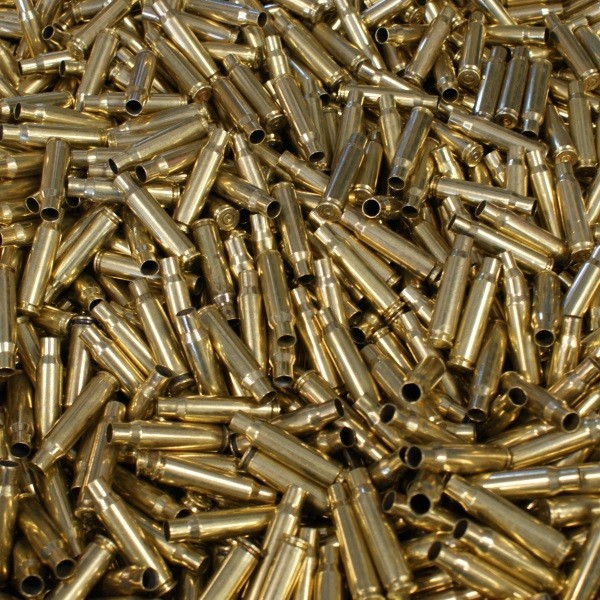 ONCE FIRED COMMERCIAL MIXED STAMP .308 WIN RANGE BRASS - 250