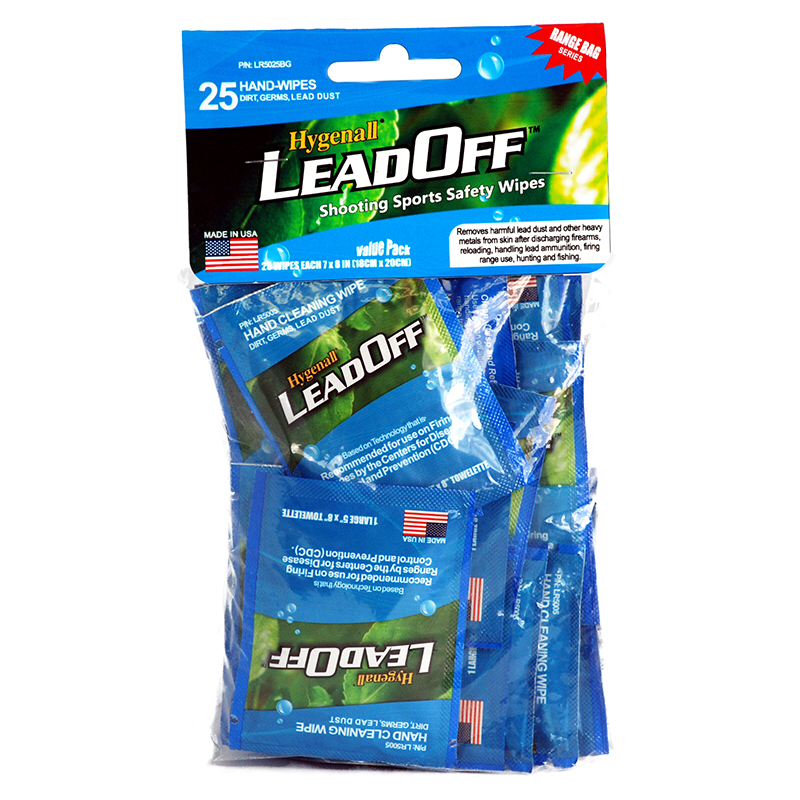 Hygenall Lead-Off Wipes 25 pack
