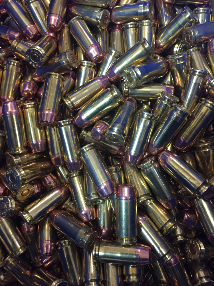 WASP 40 S&W 165gr TMJ -TC Remanufactured ammunition Bulk Packaged-500