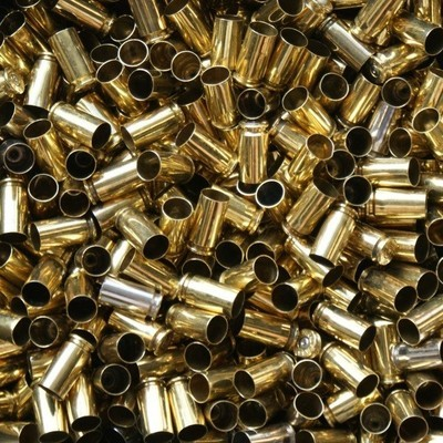 ONCE FIRED 40 S&W RANGE BRASS - 500