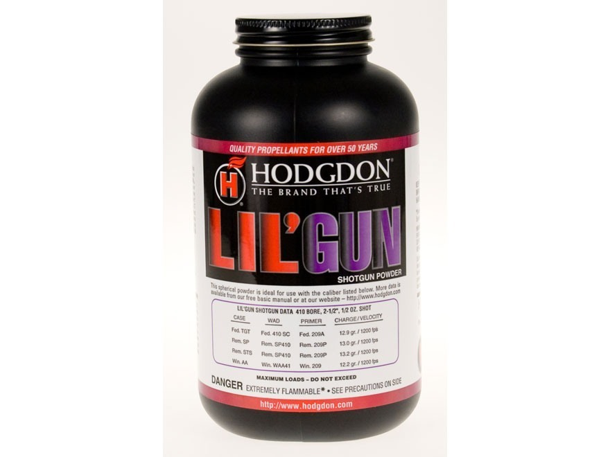 HODGDON LIL GUN  POWDER - 1LB