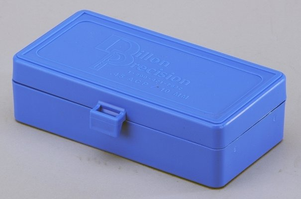 DILLON AMMUNITION BOXES .45 ACP (50 RD)