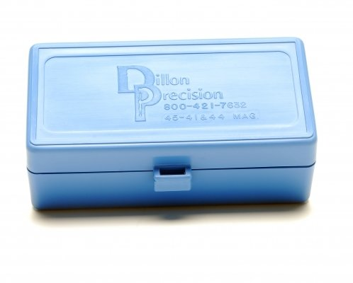 DILLON AMMUNITION BOXES .44 (50 RD)