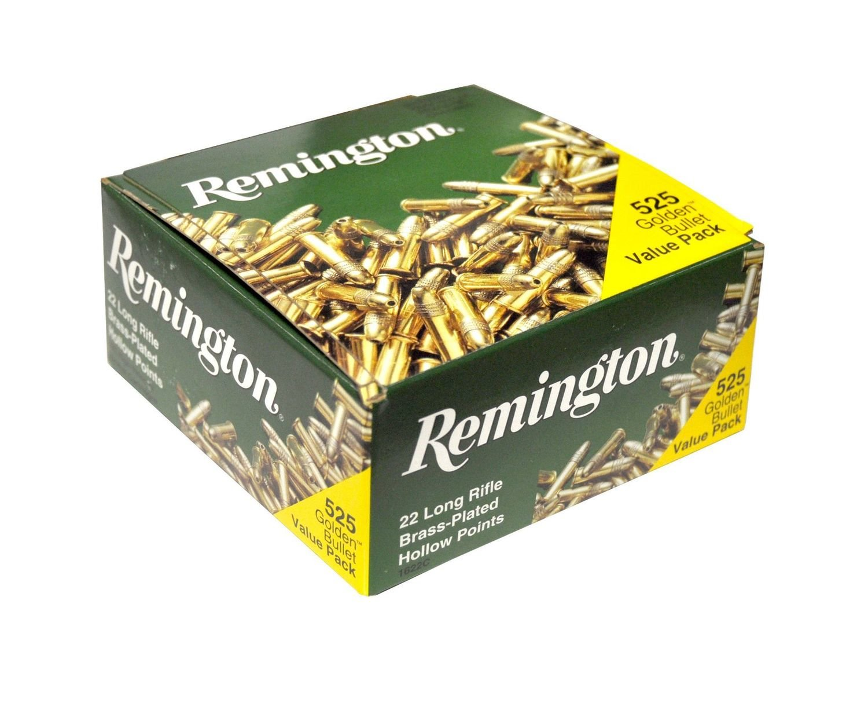 Remington® Golden Bullet .22 LR 525 Value Pack