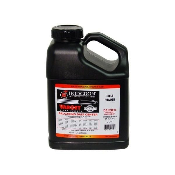 HODGDON VARGET RIFLE  POWDER 8LB