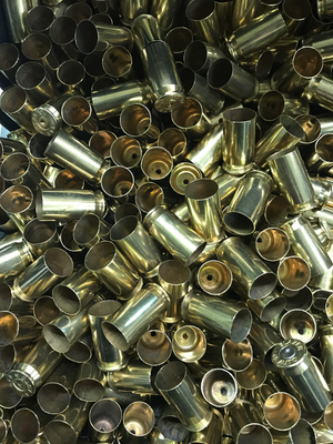ONCE FIRED 45 ACP RANGE BRASS (LG PRIMER)- 500