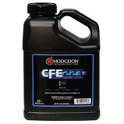 HODGDON CFE223 RIFLE BALL POWDER - 8LB