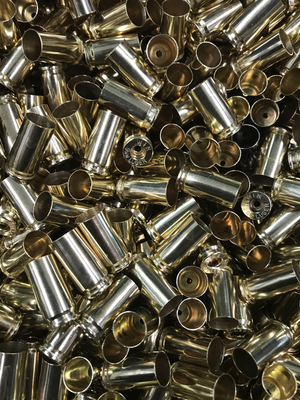 ONCE FIRED 9mm (PROCESSED / LOAD READY) BRASS- 1000