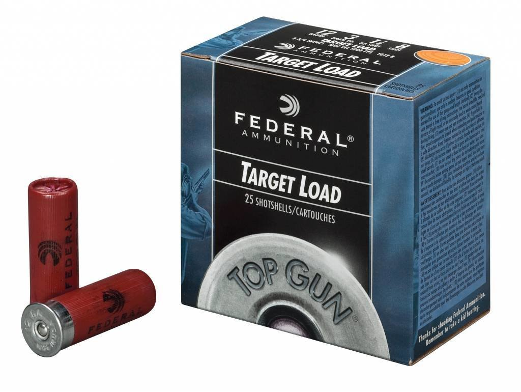 "FEDERAL TOP GUN 12 GAUGE 2-3/4"" 1 OZ #7.5 SHOT, CASE OF 250"