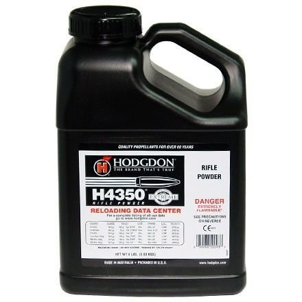 HODGON H4350 SMOKELESS POWDER-8LB