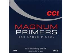 CCI LARGE PISTOL MAGNUM PRIMERS / 1000