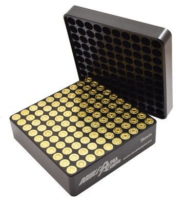 DOUBLE ALPHA 100-Pocket 9mm Gauge, with Flip Tray