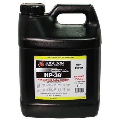 HODGDON HP-38 PISTOL POWDER - 8LB