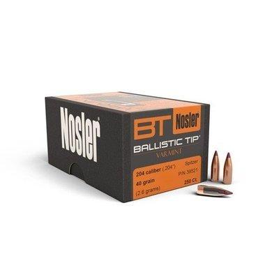Nosler Ballistic Tip Varmint Bullets .204 cal .204