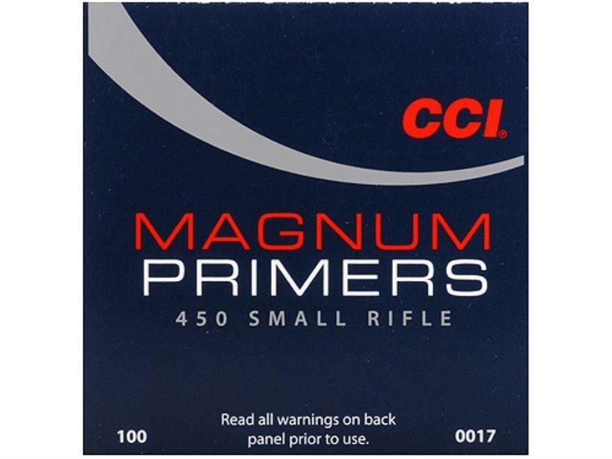 CCI SMALL RIFLE MAGNUM PRIMERS / 1000