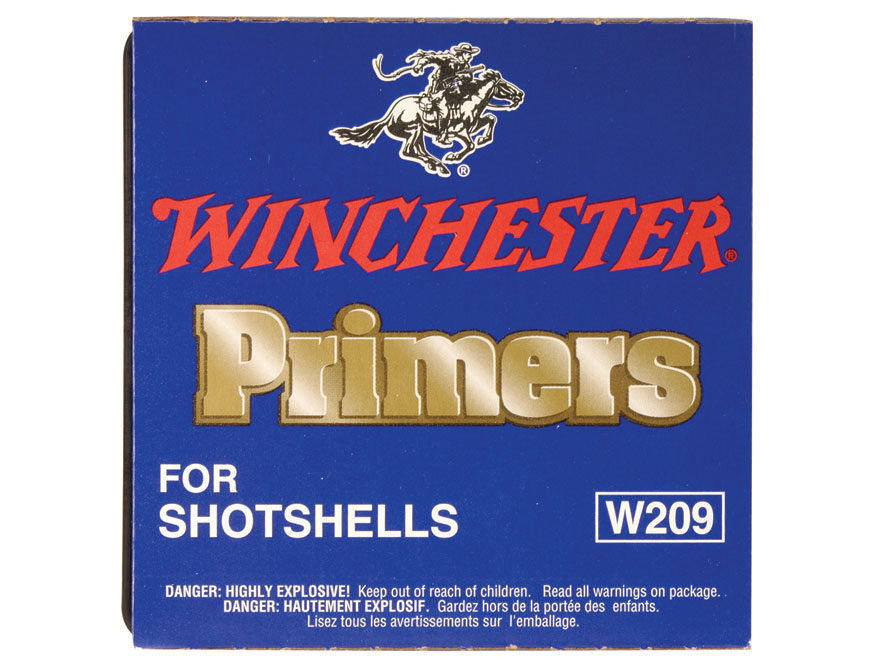 Winchester #209 Shot Shell  primers / box of 1000