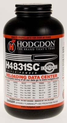 HODGDON 4831SC RIFLE POWDER - 1LB