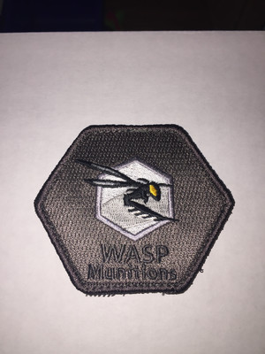 WASP Munitions Morale Patches
