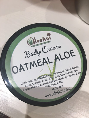 Oatmeal & Aloe Hand & Body Lotion 4.5 OZ