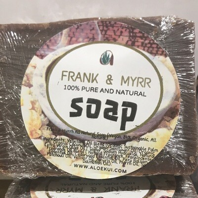 FRANK and MYRRH soap