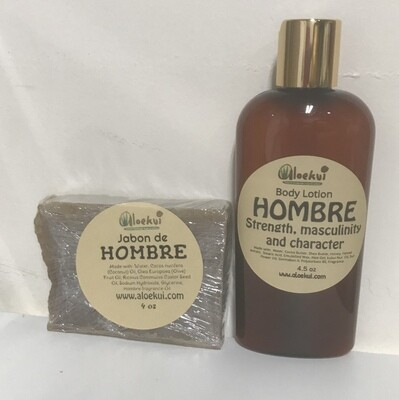 Hombre Gift Set ( Men Gift Set), travel size.