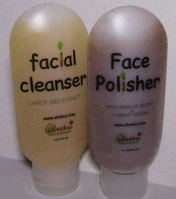 Facial Cleanser and Polisher duo