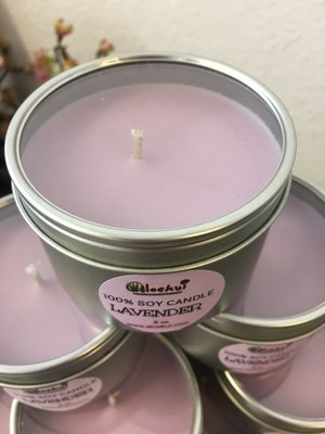 Lavender  Soy Candle 8 oz