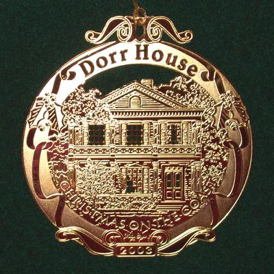 2003 - DORR HOUSE