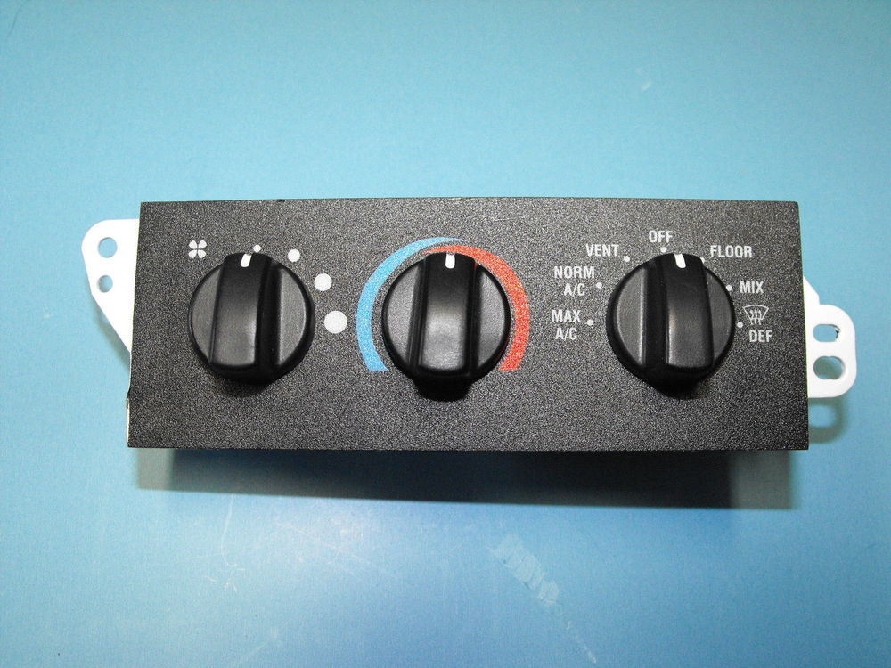 AC Heater Control Panel For Dash Air In Motorhomes