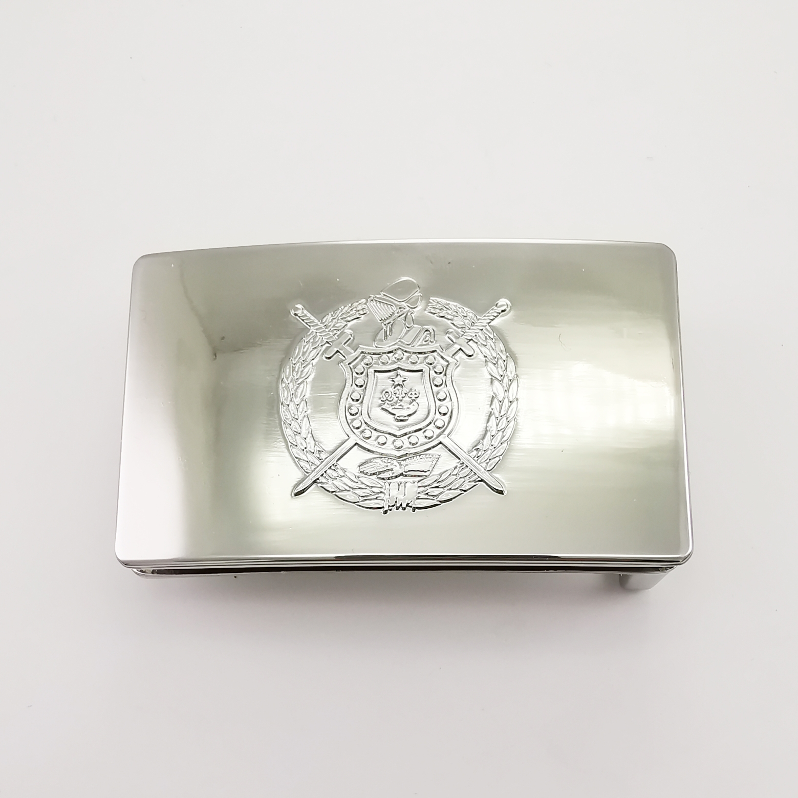 Omega Belt Buckle - Silver OBBS001