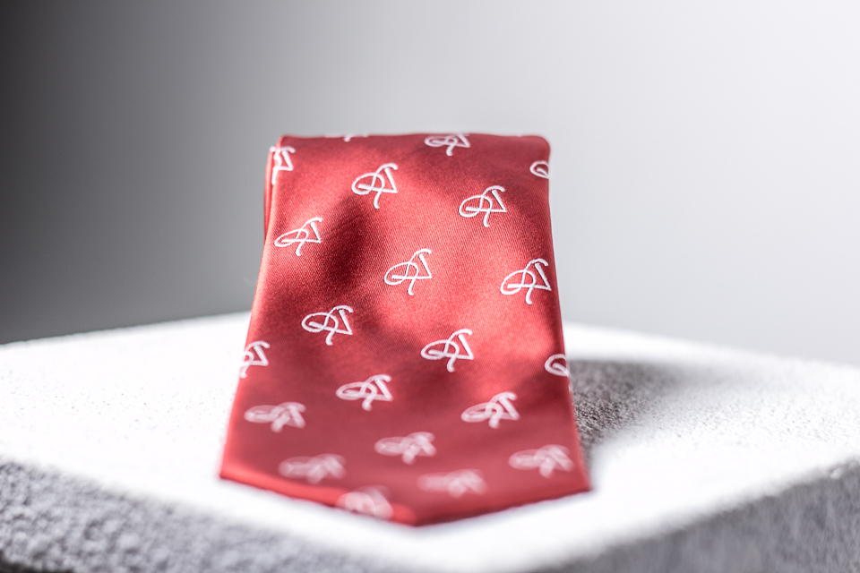 P5 Signature Red Apple- Necktie SRAN001