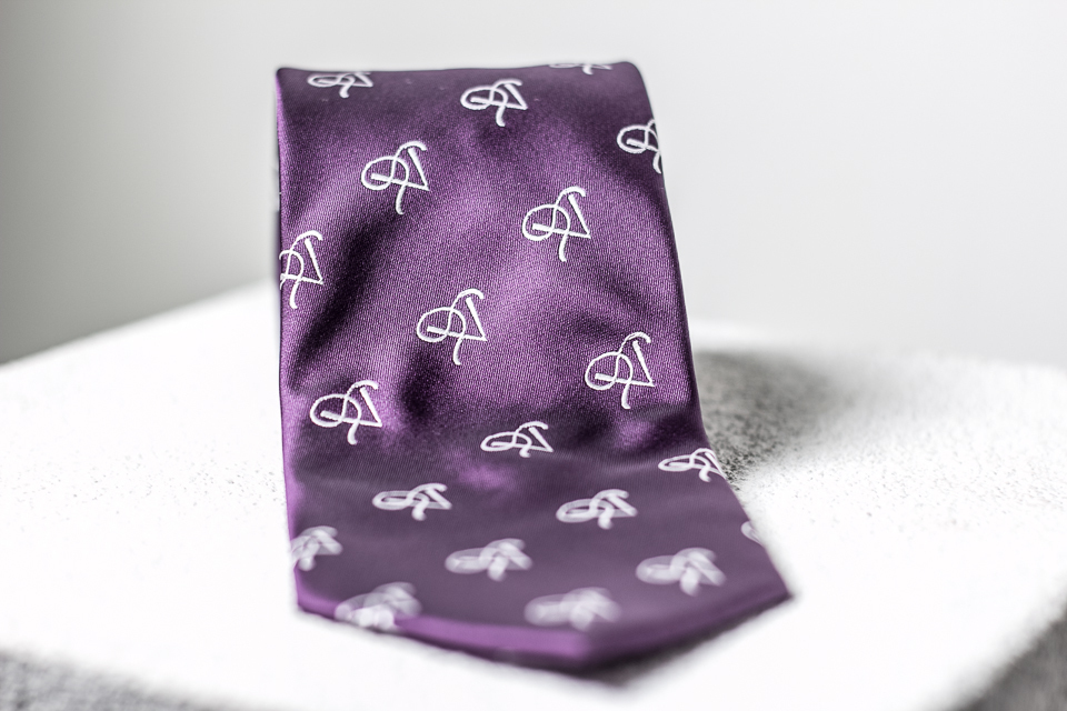 P5 Signature Plum- Necktie SPN001