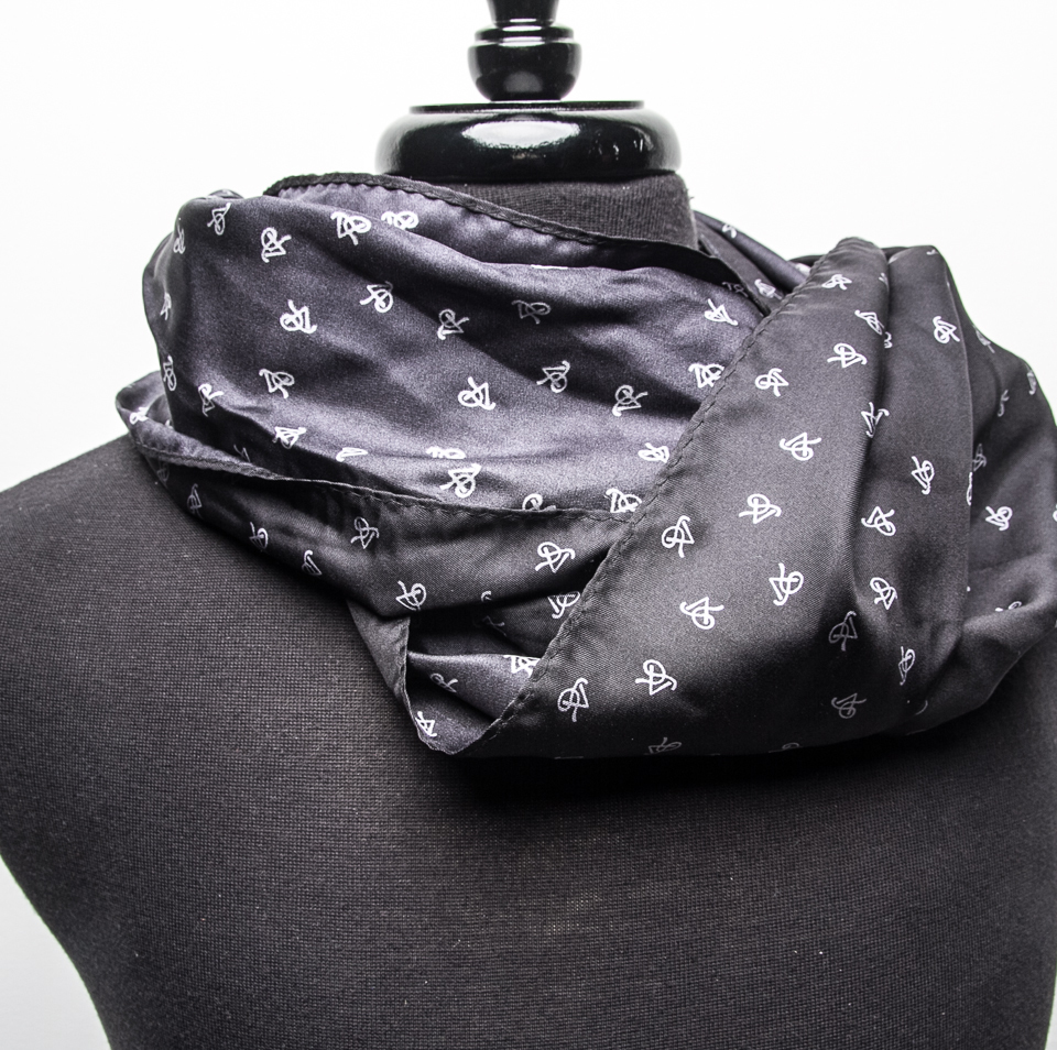 P5 Signature Charcoal - Unisex Infinity Scarf SCIS001