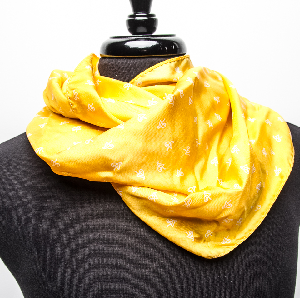P5 Signature Gold Apple - Unisex Infinity Scarf SGAIS001