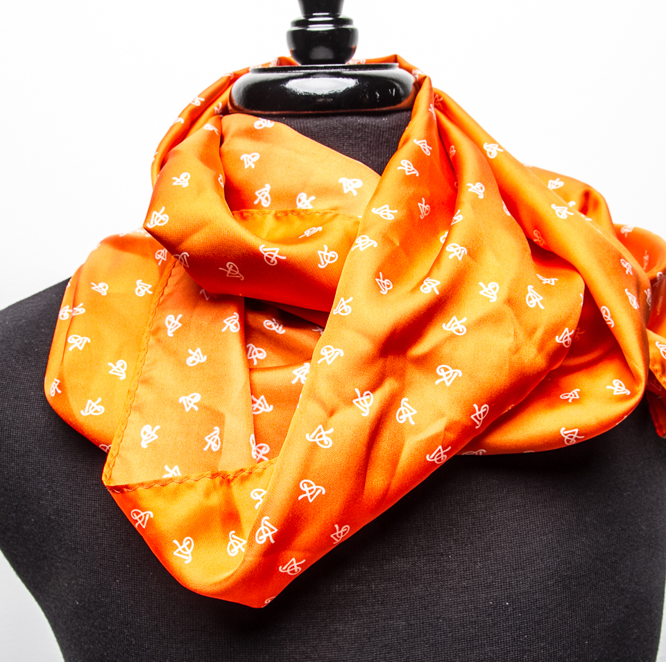 P5 Signature Orange - Unisex Infinity Scarf SOIS001