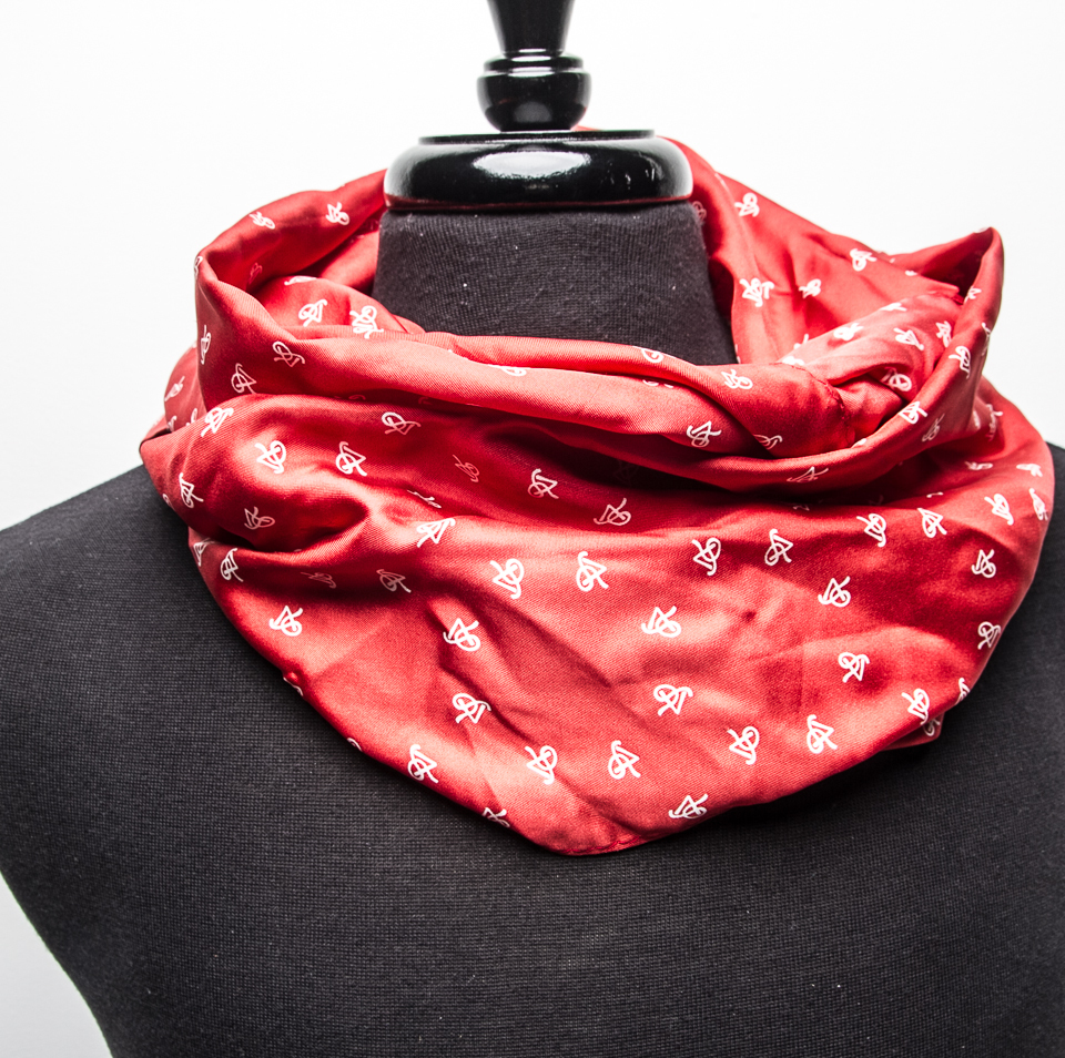 P5 Signature Red Apple - Unisex Infinity Scarf SRAIS001