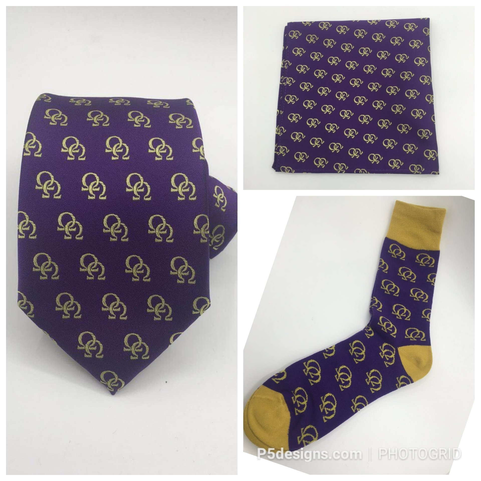 Omega Double Hooks Necktie Set ODHNS001